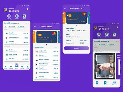 E-Wallet / Finance App ux app ui design dailyuichallenge dailyui