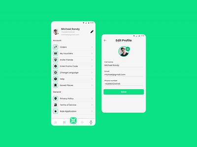 Profile Screens Design ux app ui design dailyuichallenge dailyui