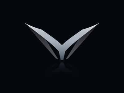 Letter YM Logo