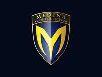 Letter M Shield Logo