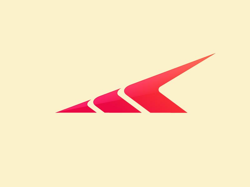 Symbol Speed Logo concept geometric clean modern simple arrow creative shape abstract concept speed logo symbol