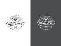 lettering vintage Real Estate Logo