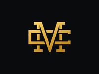 Letter MC logo