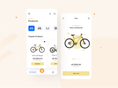 Cycling Mobile App bike bicycle mobile app mobile app design track tracking navigation profile payment app app design mobile ride app ride share bicycle app delivery truck ui ux clean logo product design interface