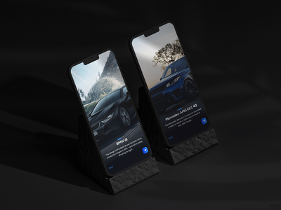 📣 Vroom Vroom 💨💨 Does This Sound Hold Your Breath 😮 ui ux design website car mercedes bmw minimalism homepage product automotive typography web concept clean webdesign designer webpage