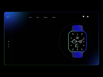 The World🌎is Getting Smarter so as our Watch ⌚ sketch app application ui behance platform layout smarthome animation animations motion smart home watchos watch applewatch watches watchface home playoff