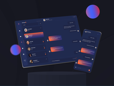 Chitchat is fun 😜 messaging chat chat app chatting chat bot message message app messenger messenger bag messaging app messages dashboard interface dashboard ui dashboard app dashboard design dark theme colors dark