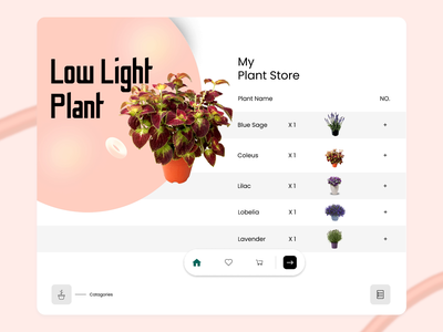 Exemplary UI Design to Come Up for a Plant Selling Store landing page landing page design web website webdesign web design website design landing landing design plant plants green card ui ui ux ui design cards ui garden gardening gardens