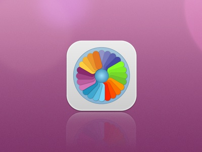 ColorPicker icon ios7 ios fireworks adobefireworks vector color picker