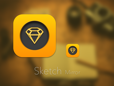Sketch Mirror iOS idea ipad app ios icon sketchmirror sketchapp sketch