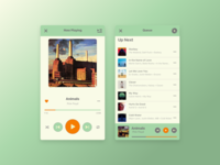 Music Player (Sketch Freebie)