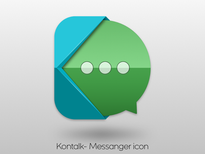 Kontalk Icon concept free messanger android sketch sketchapp icon
