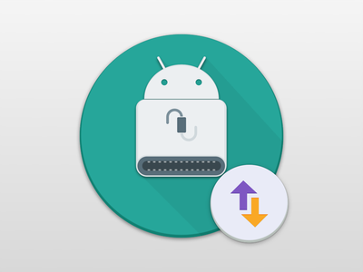 Android File Transfer icon design material osx concept android sketch sketchapp icon