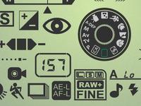 Set Camera icons