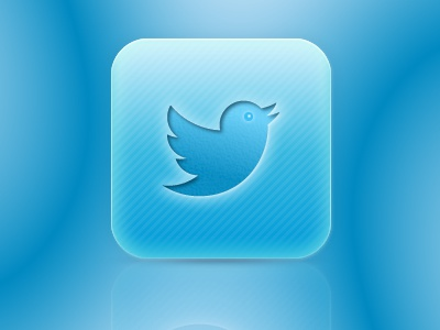 Twitter New twitter icon vector fireworks adobefireworks ios