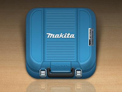 Makita Box icon icon ios adobefireworks fireworks vector box