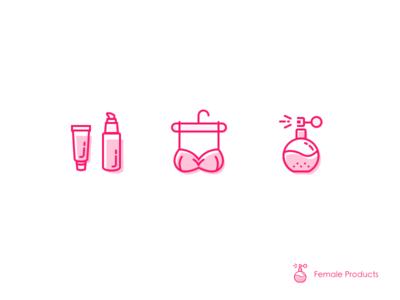 Female Products underwear perfume pink female gui ui