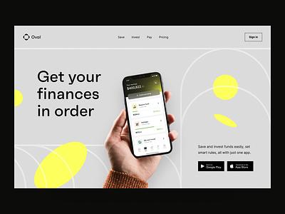 Fintech Solution: Product Page fintech fintech website saas design product website marketing website product page landing page website design