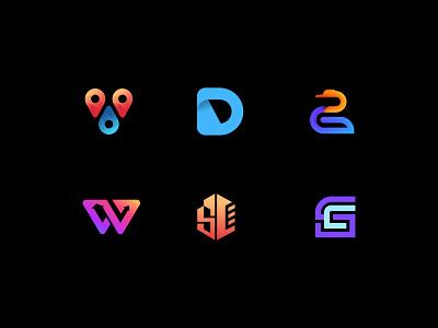 Best-Logos-collection #02 minimal mark monogram symbol startup brand identity logo mark icons challenge logo designer logos logomark logo design modern logo logotype logo brand identity branding