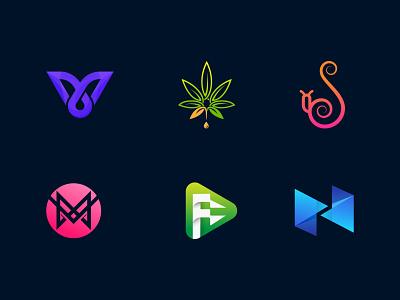 Logos collection #5 logomark negative space monogram symbol minimalist logo mark brand logos modern logo logo mark logo designer brand identity logodesign typography identity vector logotype icon branding logo