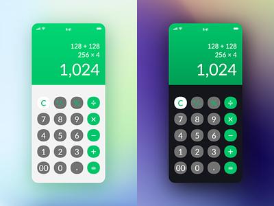 Daily UI #004 - Calculator ui dailyui daily ui