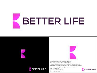 B Modern Letter Logo creative logo creative logo design vector minimal logo letter logo modern logo design letter logo design illustration branding b letter logo