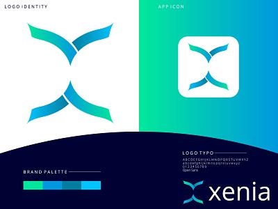 X LETTER LOGO app typography letter logo creative logo design modern logo design letter logo design x identity logo x brand x brand logo x color logo x shape x logo x modern logo x letter logo design x letter logo
