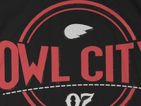 Owl City Stamp