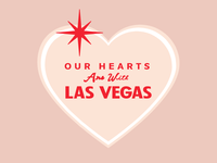 Our Hearts Are With Las Vegas