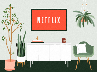 Netflix and Chill green snake plant fern interior design pf candle living room chair plants tv chill netflix and chill netflix