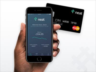 Fintech App | Dashboard mobile mobile app ui ios mobile design fintech spending dashboard