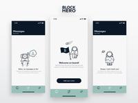 BlockHero | Empty Screens