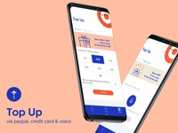 WIND myQ mobile app - Top Up