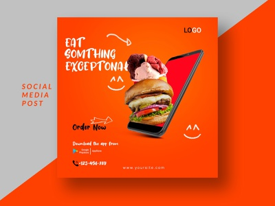 Social Media Post new trend design unique design electronic psd template psd mockup psd social social media design socialmedia print illustration design