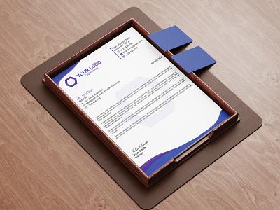 Letterhead template branding letterhead design letterhead template letterheads business stationary stationery design letterhead illustration print design