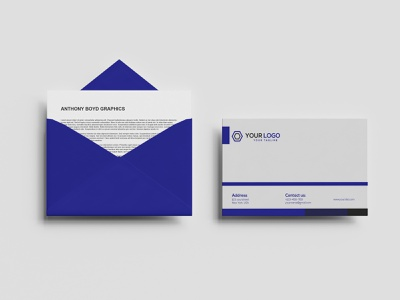 Envelope illustration template corporate identity corporate design envelope envelope design print branding design