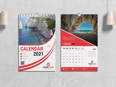 Wall Calendar calendar mockup calendar  template wall calendar calendar design calendar illustration template print branding design