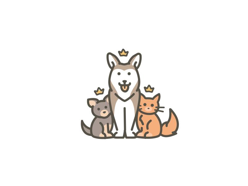 Pet Logo By Flat12 On Dribbble