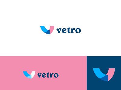 Vetro business logo illustration logo classic feminine luxury minimalist unique creative logo design branding