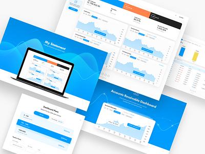 MyStatement Dashboard uiux dashboard ui statistcs analitycs graphics report cms admin panel admin dashboard