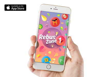 Rebus Zone: Crazy Logic Riddles apple watch ios 9 word puzzle  zone vocabulary riddle rebus ios free  game english app store animations
