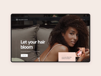 Bloomhair.com – UI interactions
