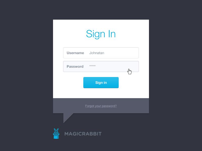 Login modal login sign in modal dialog window ui interface web application admin