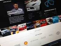Motorsport website design