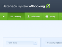 W3booking menu