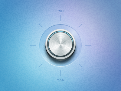 Volume control button ui volume application simple clean