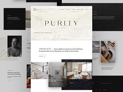Adriatic – Landing page texture parallax presentation microsite stone italian webdesign website web homepage home landing