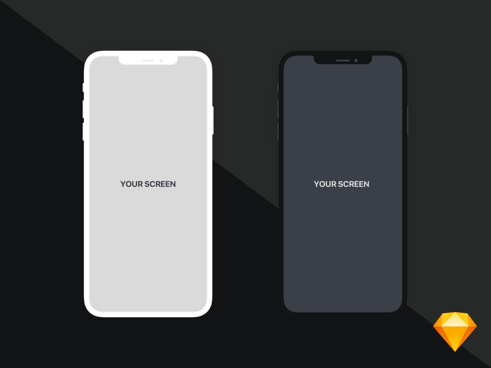 Iphonexs max   flat mockup 4x