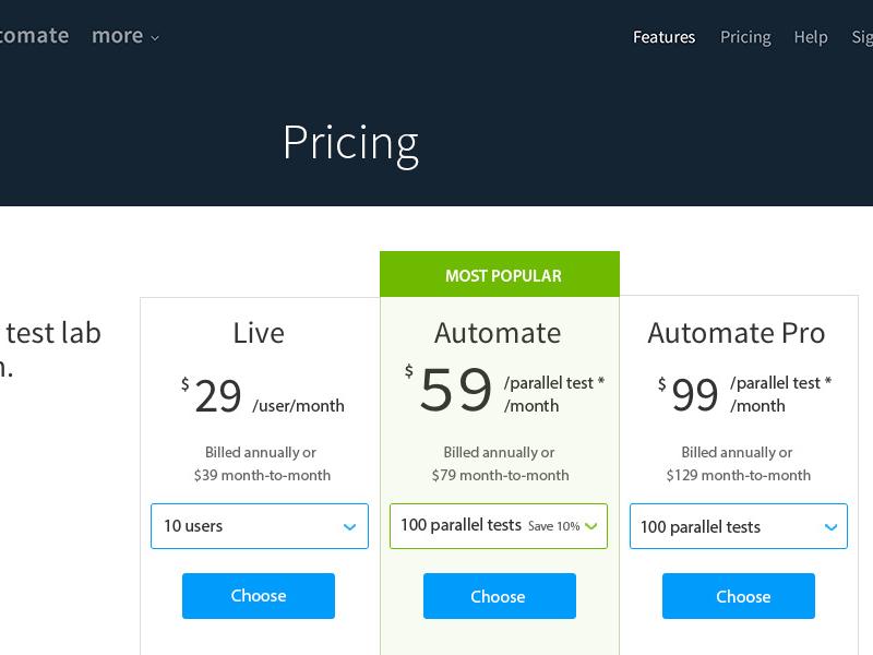 Pricing 2.1.12