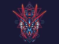 Gundam sacred geometry